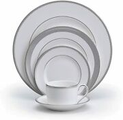 Vera Wang Wedgwood Grosgrain 5-piece Place Setting Dinnerware Collection 6 Sets