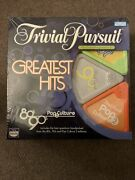 Trivial Pursuit Greatest Hits 80s 90s Pop Culture 2 Board Game 3-in-1 Complete