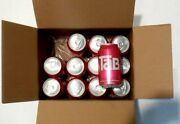 Tab Cola Soda 12 Single Cans No Box Expired 3/15/21 Collectible Only