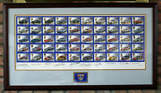 Nascar - Rare 50th Anniversary Limited Edition Framed Collectible