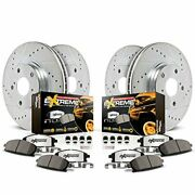 Power Stop K1906-36 Front And Rear Z36 Truck And Tow Brake Kit
