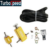 Universal Gold Adjustable Racing Turbo 1-30 Ps Manual Mt Boost Controller Kit