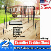 Campfire Cooking Stand Outdoor Barbecue Cooking Campfire Cooking Equipment Usa
