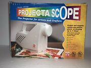 Projecta Scope Pj768 Art Magnifying Drawing Tracing Projector New