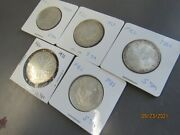 Lot Of 4 German Mark Silver Coin About Unc 30796 World My