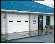 Duro Steel Amarr 2402 Series 16and039 Wide By 14and039tall Commercial Overhead Garage Door