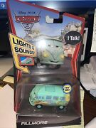 Disney Pixar Cars 2 Lights And Sound Fillmore Rare And Hard To Find