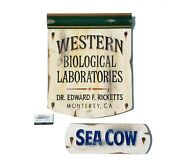 Cannery Row John Steinbeck Docand039s Laboratory Sign + Sea Cow Sign