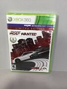 Need For Speed Most Wanted Xbox 360 Limited Edition New Sealed