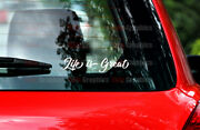 Life Is Great Decal Sticker Graphic Window Bumper Positive Good Vibes