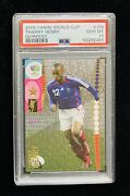 2006 Panini World Cup Germany Thierry Henry Card 109 Psa 10 France