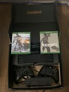 Microsoft Xbox One Day One Edition In Box. 20x Speed Hdd Console With 2 Games