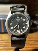 2002 Pulsar G10 British Military Issued Afghanistan Iraq Watch Seiko Army Navy
