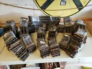 Lionel Standard Gauge Track Sections Curved - 10 Piece Lot