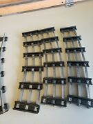 Mth Lionel Standard Gauge Track Sections Curved - 6 Piece Lot O72