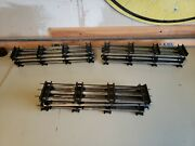 Usa Trains Mth Lionel Standard Gauge Track Sections Straight - 6 Piece Lot