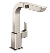 Moen 90 Degree Spot Resist Stainless One-handle High Arc Pullout Kitchen Faucet