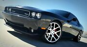 Fits 22 Viper Black Machine All Season Tires Wheels Rims For Challenger Charger
