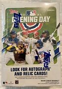 2021 Topps Baseball Opening Day - Factory Sealed Blaster Box - 77 Cards New