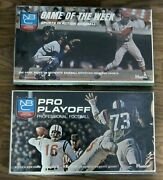 Vintage 1969 Nbc Sports In Action Pro Playoff Football And Baseball Games Hasbro