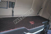 Truck Bed Cover Fit Scania R Streamline 2013-2017 Black With Red Stitches