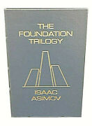 🔥 The Foundation Trilogy Isaac Asimov Signed Easton Press Leather Rare Find 🔥