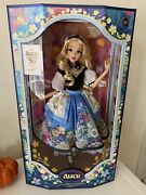 Disney Alice In Wonderland Limited Edition Doll By Mary Blair- 70th Anniversary
