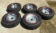 Triumph Tr6 Wheels Tires Trim Rings Centers And Lugs Important Read