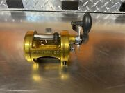 Penn 975 International Fishing Reel Star Drag Out Of Production W/ Power Handle