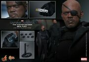 Nick Fury - Hot Toys 16 Mms245 - Captain America Winter Soldier