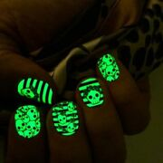 Color Street Nail Strips Retired Rare Glow In The Dark Literally Dead