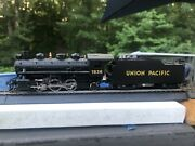 Bachmann Ho Scale Union Pacific 2-6-2 Steam Loco And Tender, Runs, Tt Clean And Rtr