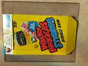 1980 Wacky Packages Stickers Empty Box Topps 3rd Series Super Nice Condition--