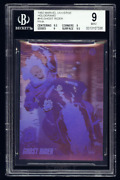 1992 Marvel Universe Holograms H5 Ghost Rider Pink Bgs 9 .5 From Gem Mint Pop1