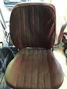 Porsche 356 Front Passenger And Driver Seats Red Leather Now