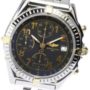 Breitling Chronomat B13050.1 Bicolo Chronograph Gray Dial At Menand039s Watch_641142