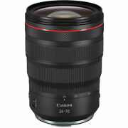 New Canon Rf 24-70mm F/2.8l Is Usm Lens
