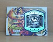 2013 Topps Mars Attacks Invasion Mm-5 Medallion Card High Voltage Execution