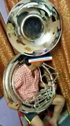 Sousaphone Big Bell 25pure Brass Made In Chrome Polish+case + Free Ship- Latest