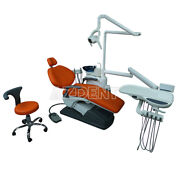 Dental Hardleather Chair Dentist Portable Computer Controlled Unit Folding Chair