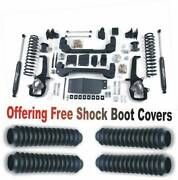 Zoneoffroad 2012 Fits Dodge Ram 1500 6 Suspension System W/free Boot Protectors