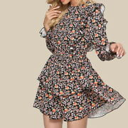 Women Ladies Dress Flowers Sexy Hot Elegant Party Travel Vacation Clothes Dress