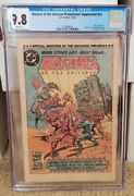 Masters Of The Universe Promotional Nn Cgc 9.8 Rare 🔥🔥 2nd He-man Comic Dc...