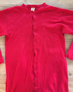 Vintage Red Union Suit Thermals Long Johns St. Johnand039s Bay Xxl See Measurements