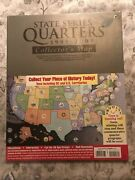 State Quarter 1999 - 2009 Coin Set - Large Collector's Map Whitman Album Book