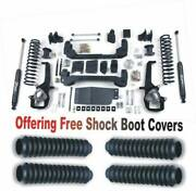 Zoneoffroad 13-18 Fits Dodge Ram 1500 Suspension Lift Kit Free Shock Boot Covers
