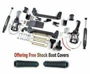 Zoneoffroad 04-08 Fits Ford F150 4wd 6 Suspension System W/free Boot Protectors