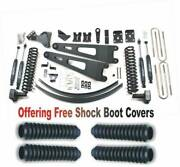 Zoneoffroad 2011-2016 Fits Ford F250 F350 Suspension System Free Boot Protectors