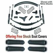 Zoneoffroad 99-04 Fits Ford F250 F350 4wd Suspension System Free Boot Protectors