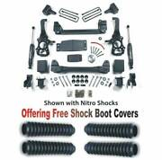 Zoneoffroad 15-20 Ford F-150 4wd 4 Suspension System With Free Boot Protectors